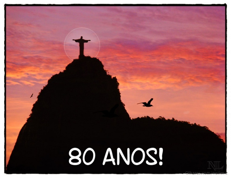 Paisagem Natural/CRISTO REDENTOR 80 ANOS!