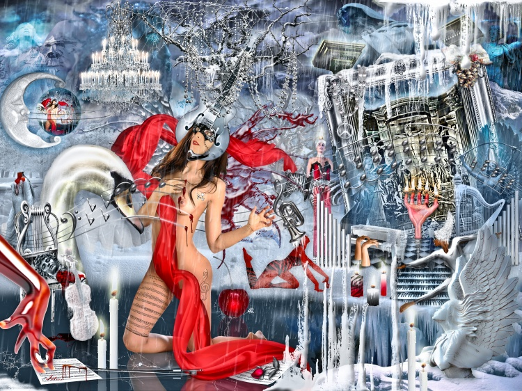 Arte Digital/As Quatro Estações de Vivaldi (IV – Inverno)