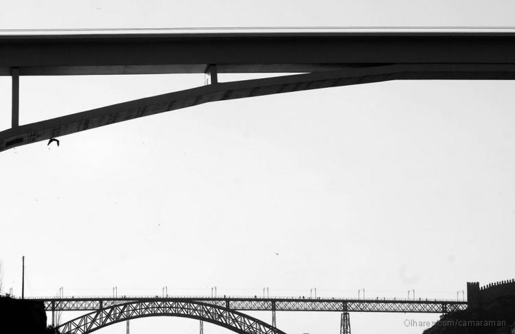 Paisagem Urbana/As Pontes do Sol Poente #3