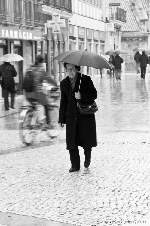Paisagem Urbana/à chuva