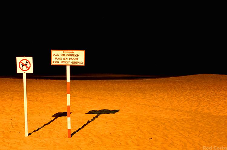 Paisagem Natural/Praia sem assistência