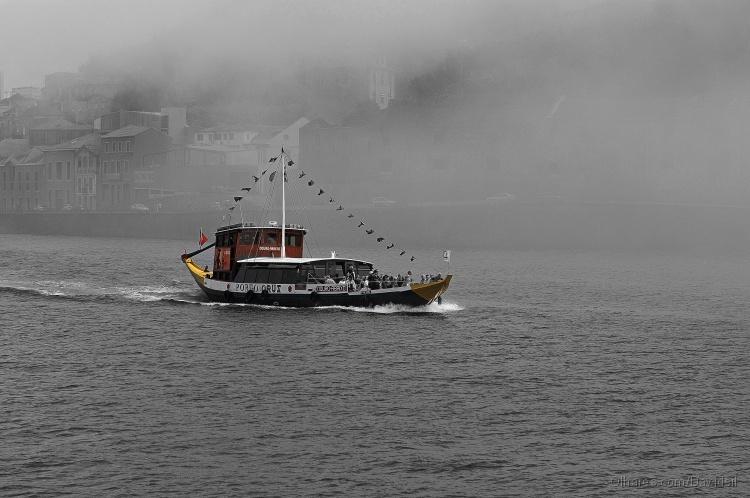 Paisagem Natural/Barco e o Douro