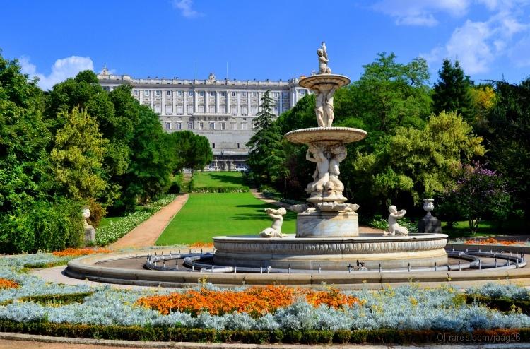 Madrid jardins do pal cio real o campo do mour foto de jos godinho olhares fotografia - Jardines palacio real madrid ...