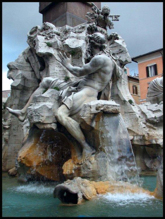 Paisagem Urbana/Fonte de Bernini