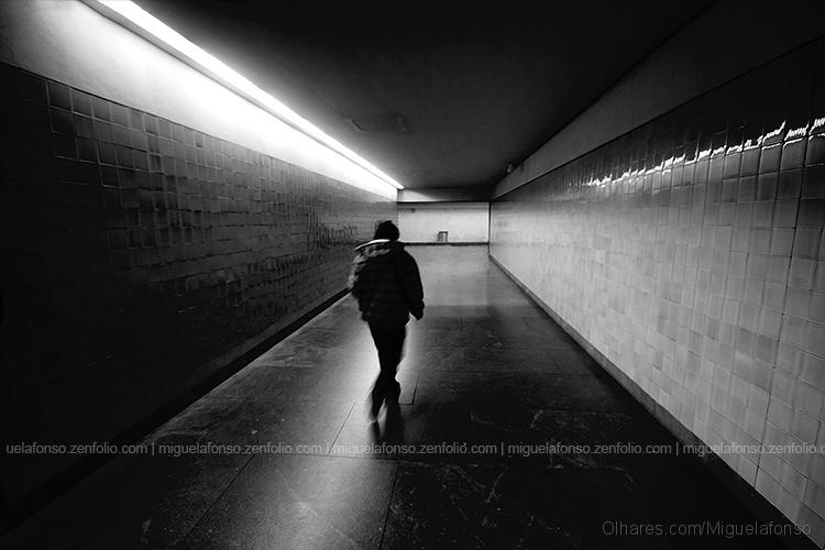Paisagem Urbana/No túnel
