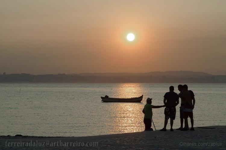 Outros/Samouco Beach Sunset