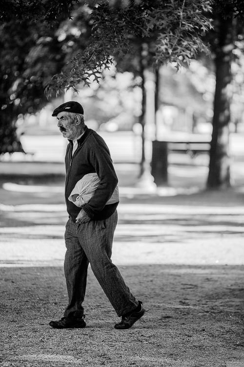 Paisagem Urbana/O homem do saco