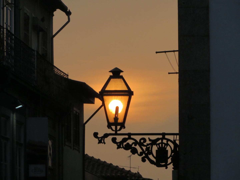 Paisagem Urbana/O pôr do sol tambem ilumina