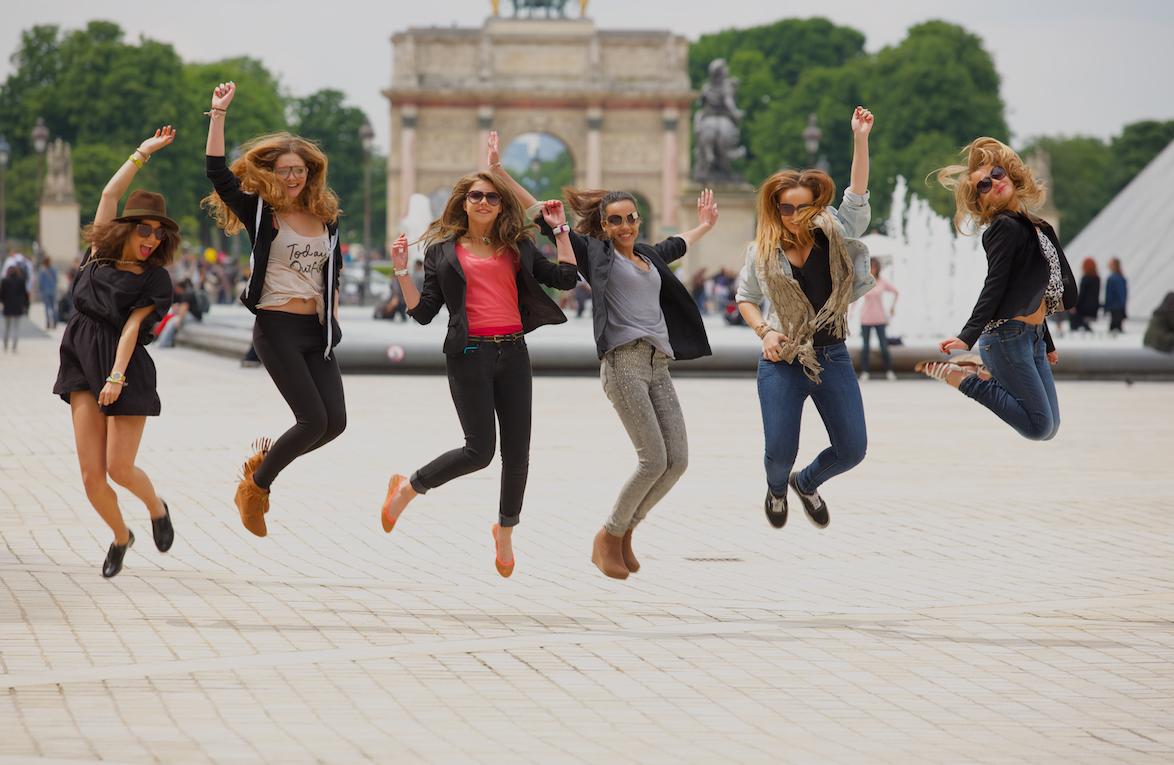 Moda/Felicidade de paris