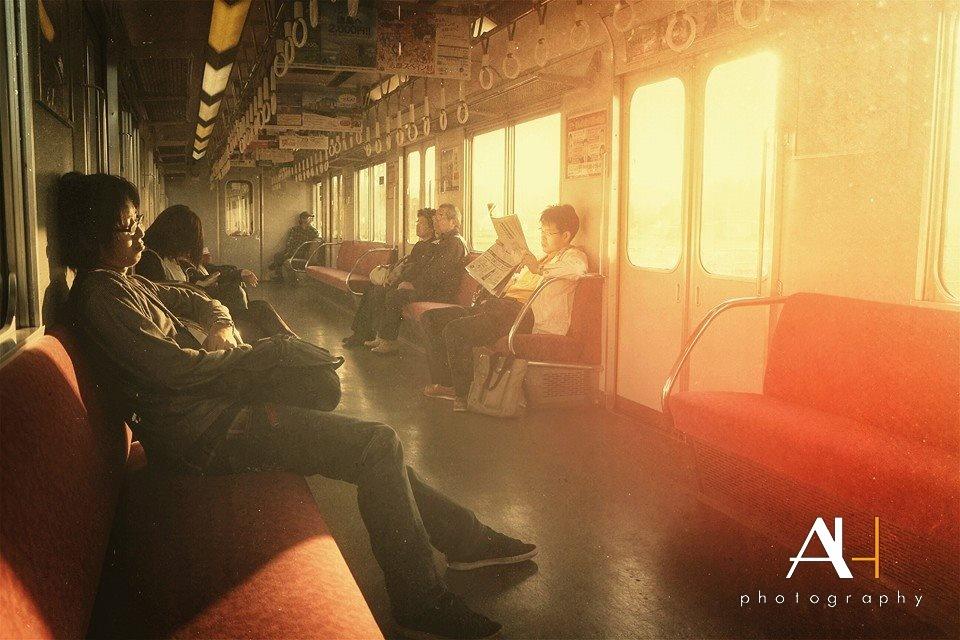 Paisagem Urbana/Gold train