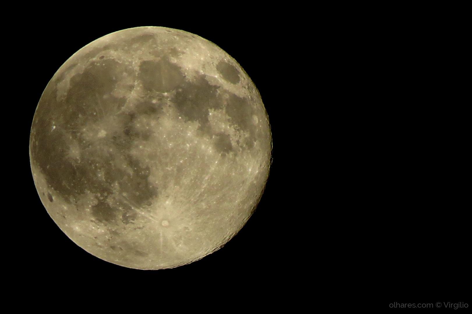 Paisagem Natural/Full Moon Night