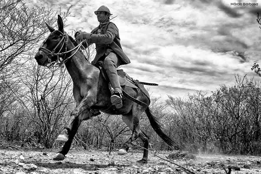 Retratos/Vaqueiro do nordeste brasileiro.