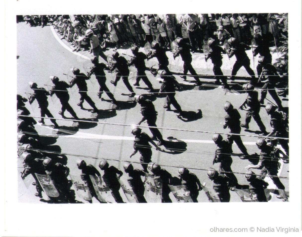 Paisagem Urbana/Desfile do 7 de setembro na Avenida 7