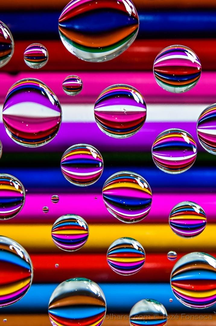 Abstrato/Colored drops!
