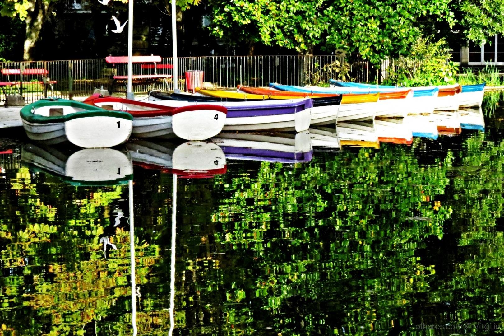 Gentes e Locais/Reflexos no lago...