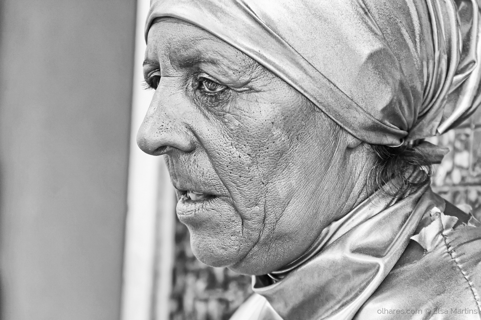 Retratos/I saw her standing there,,, in a silver world!