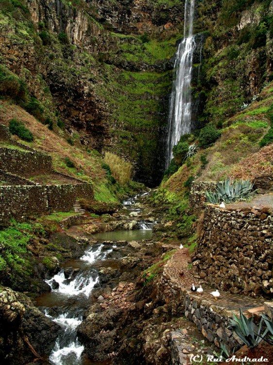 Paisagem Natural/Cascata da ribeira do Aveiro