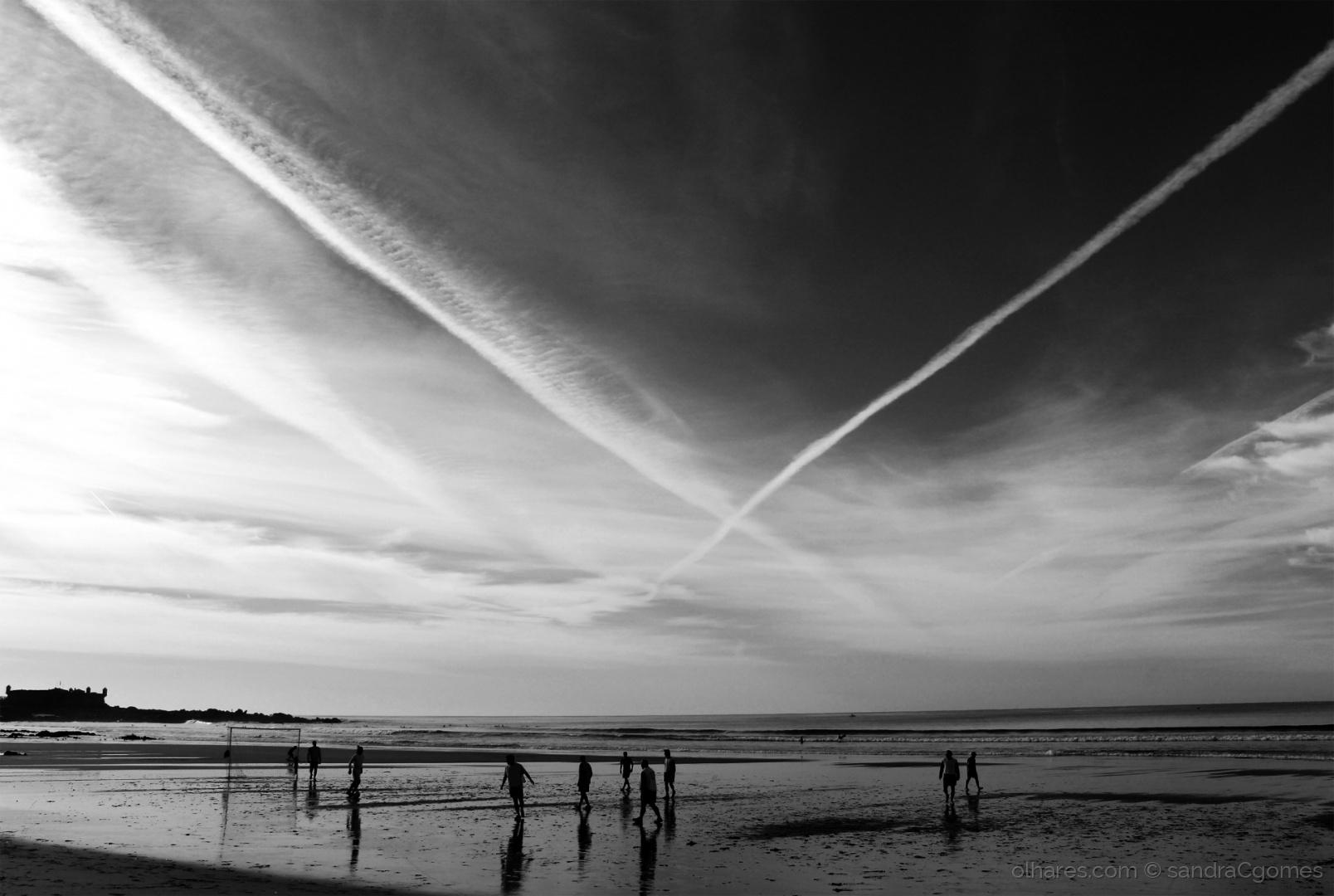 Paisagem Natural/Um Domingo na praia