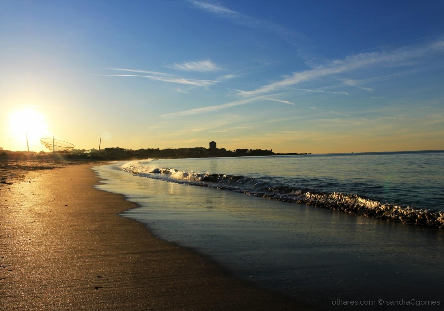 Paisagem Natural/Amanhecer na praia