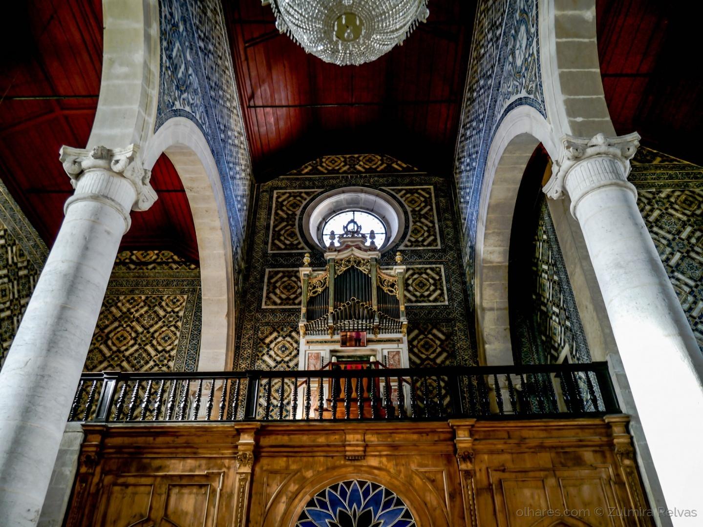 História/Órgão Igreja Marvila  Ler