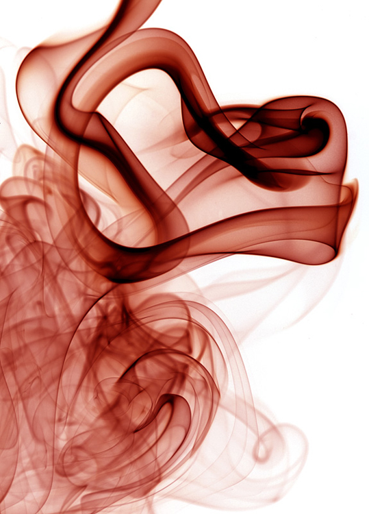 Abstrato/Red Smoke