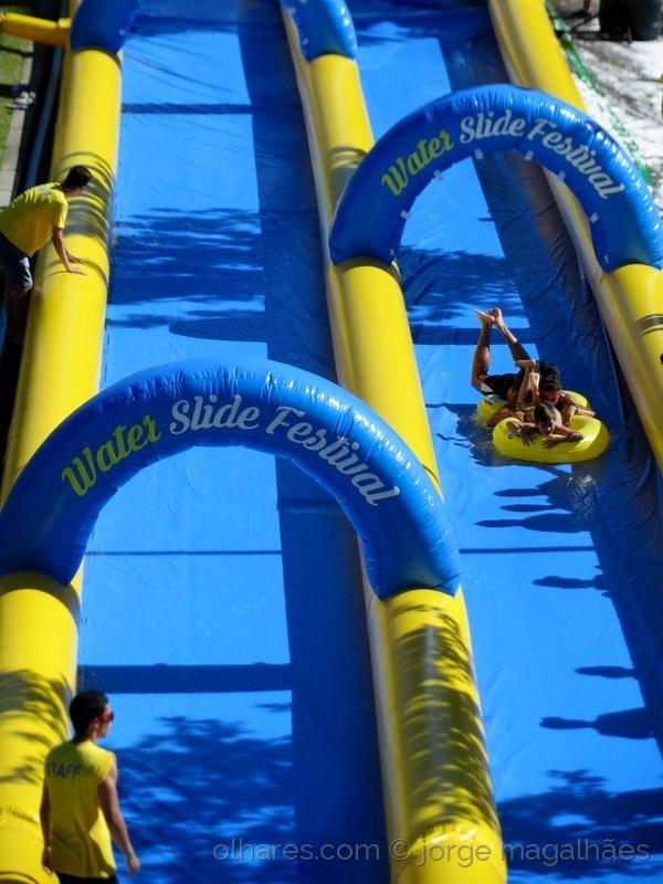 Espetáculos/Water slide festival