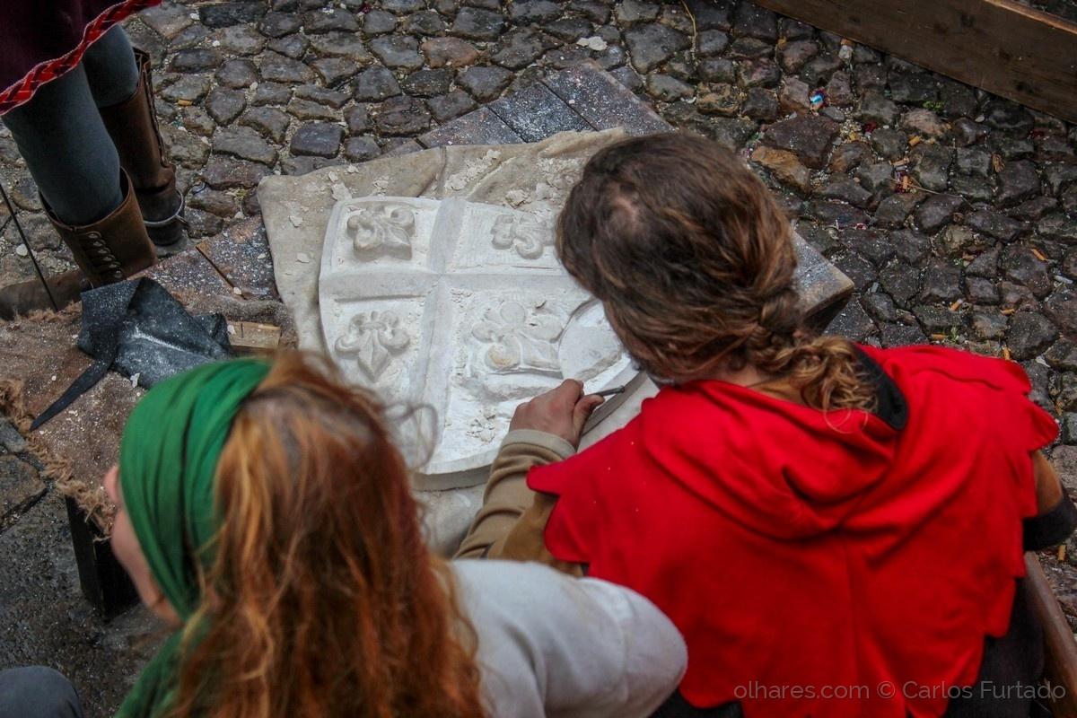Espetáculos/Penteados medievais
