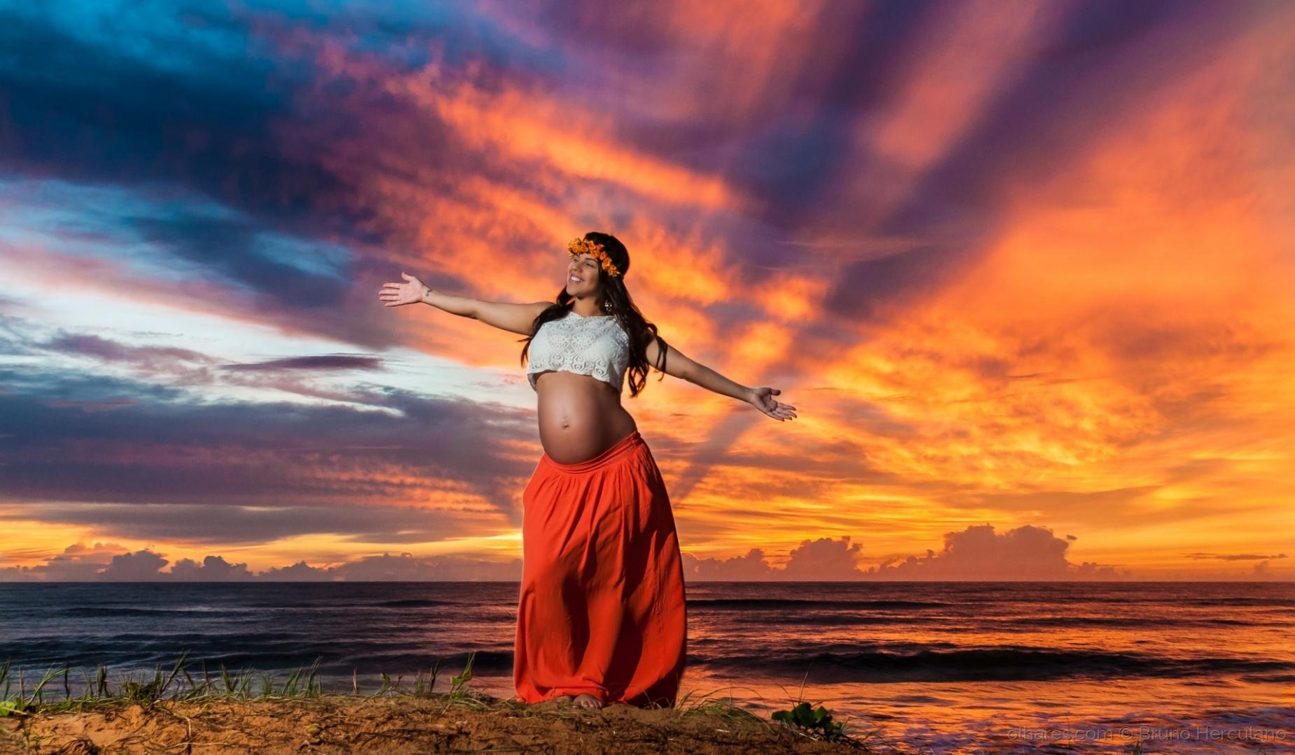 Arte Digital/Sob o nascer do sol / Under the sunrise