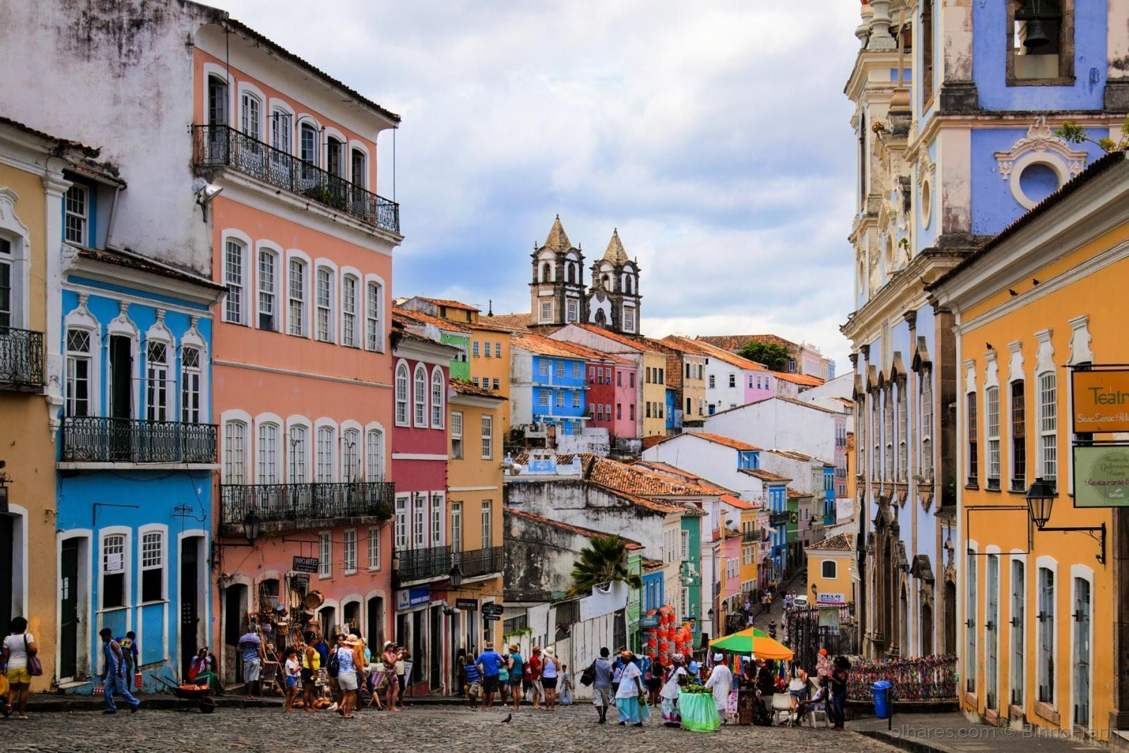 Ladeira do Pelourinho - Salvador - Bahia - Brasil Foto de BinnoFrann |  Olhares - Fotografia Online