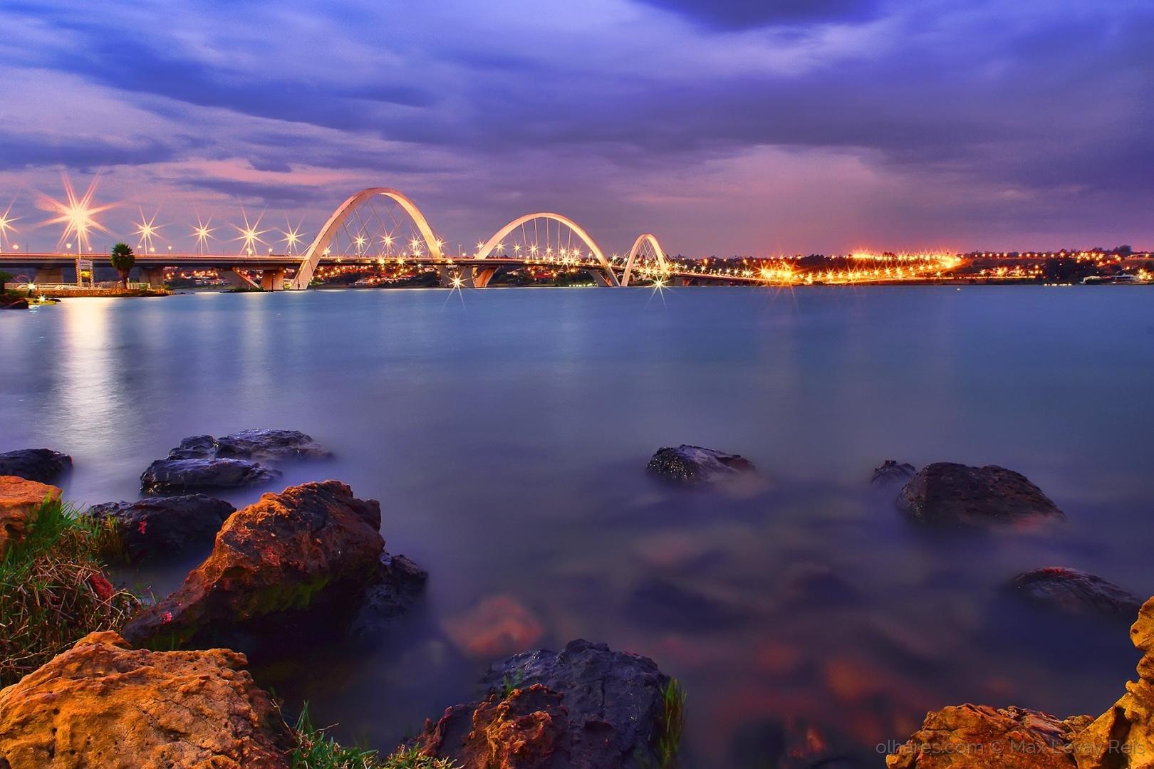 Paisagem Urbana/Ponte JK - Brasília / DF