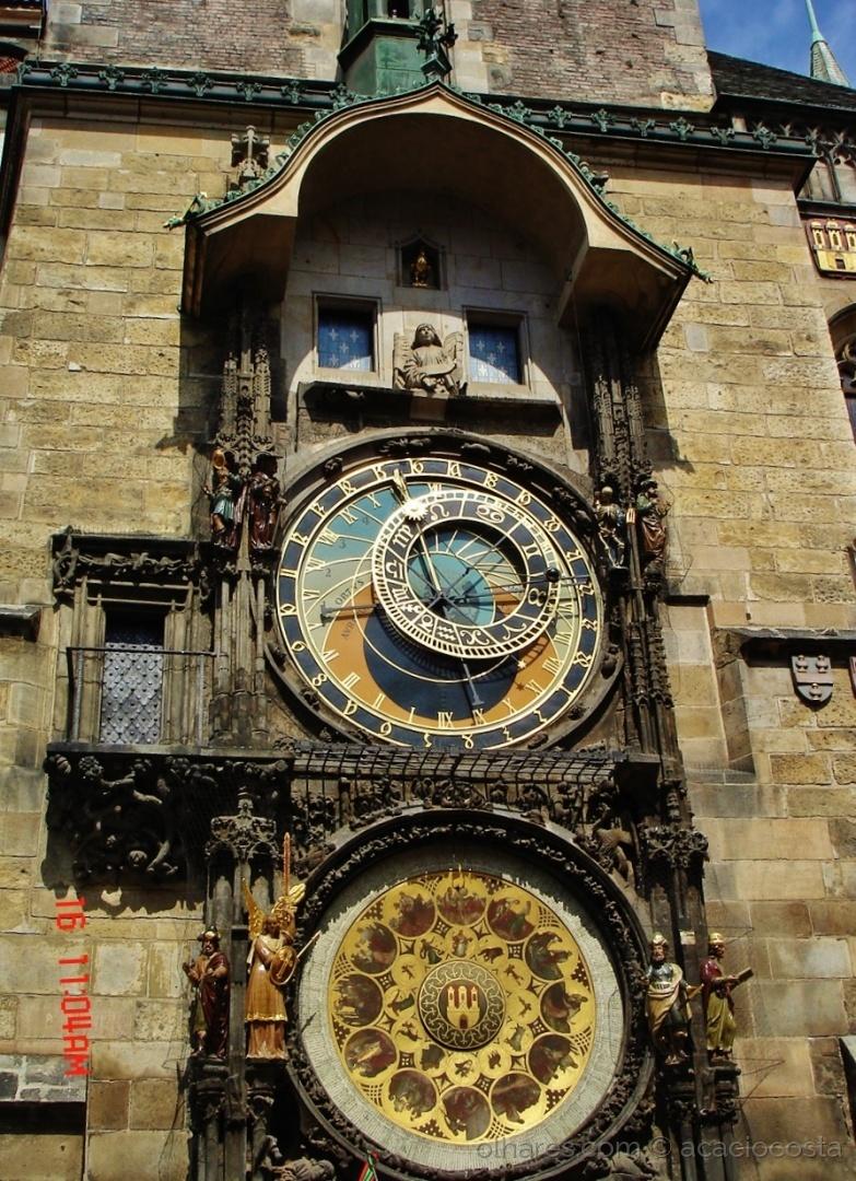 Paisagem Urbana/O Orloj  de Praga