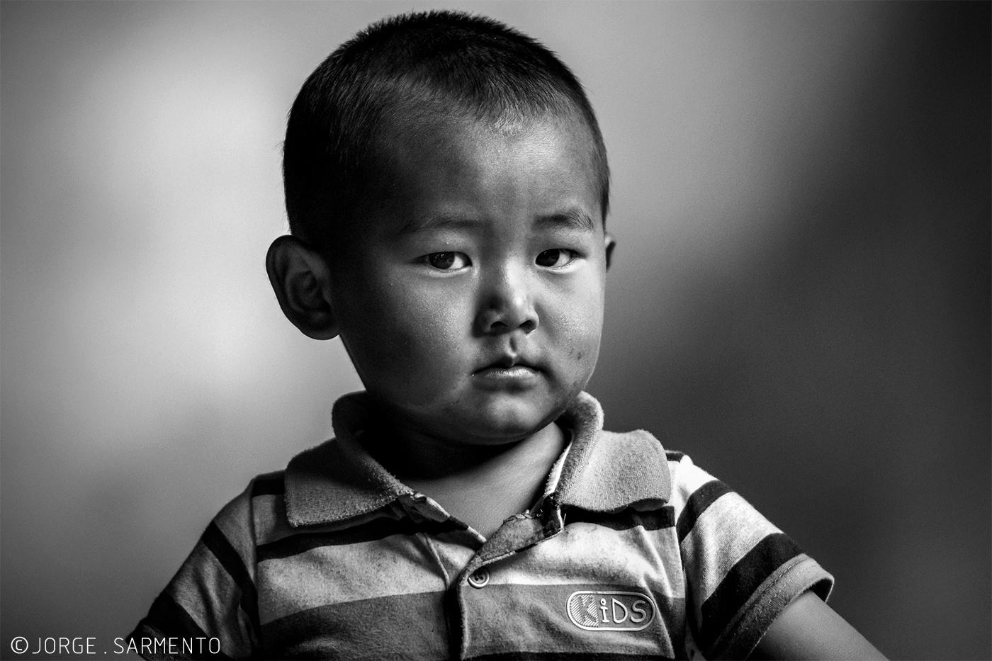 Retratos/Naxi boy