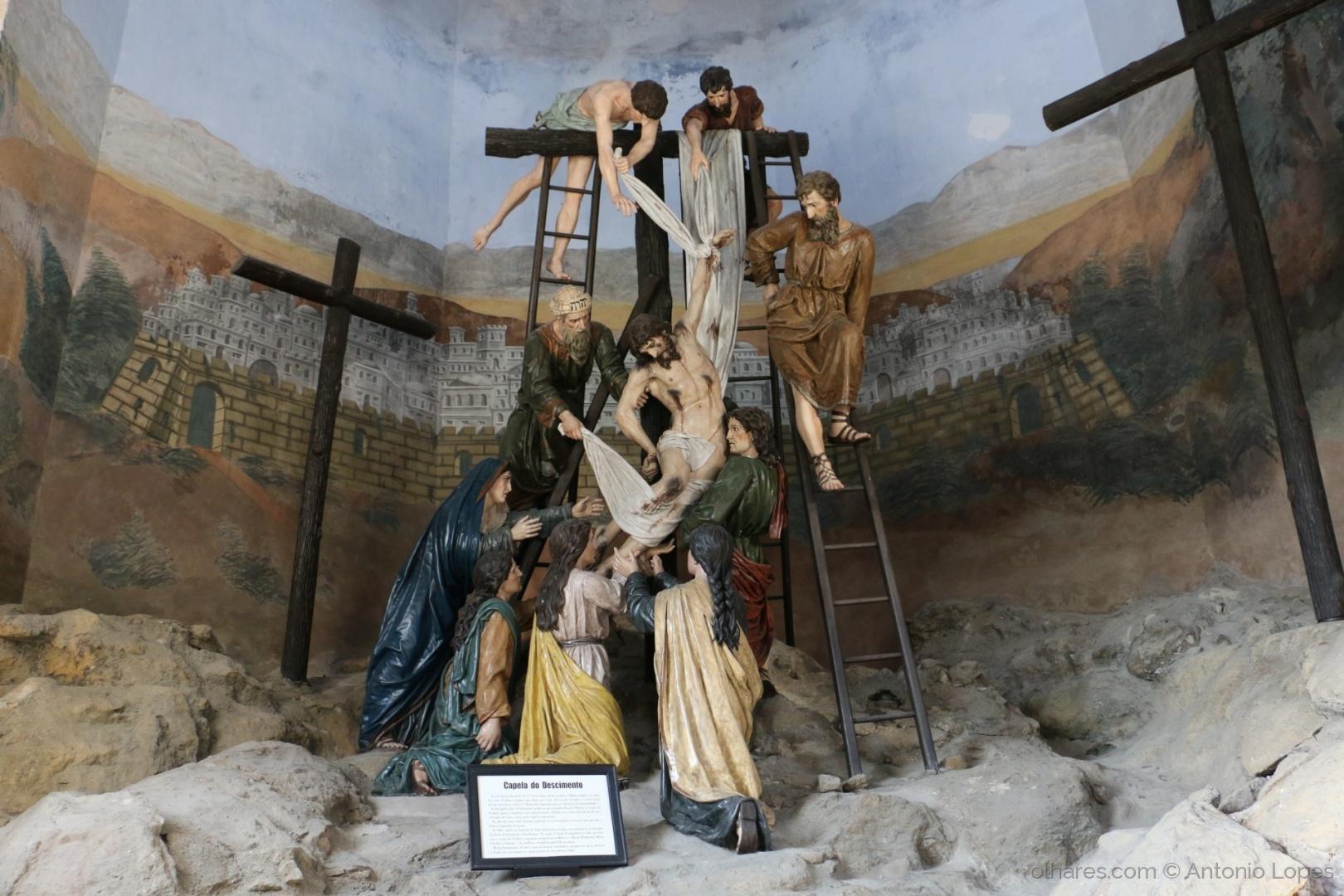 História/ Capela da descida da cruz.
