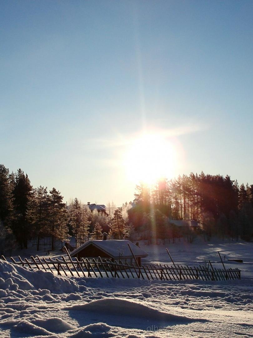 Paisagem Natural/Sol de inverno