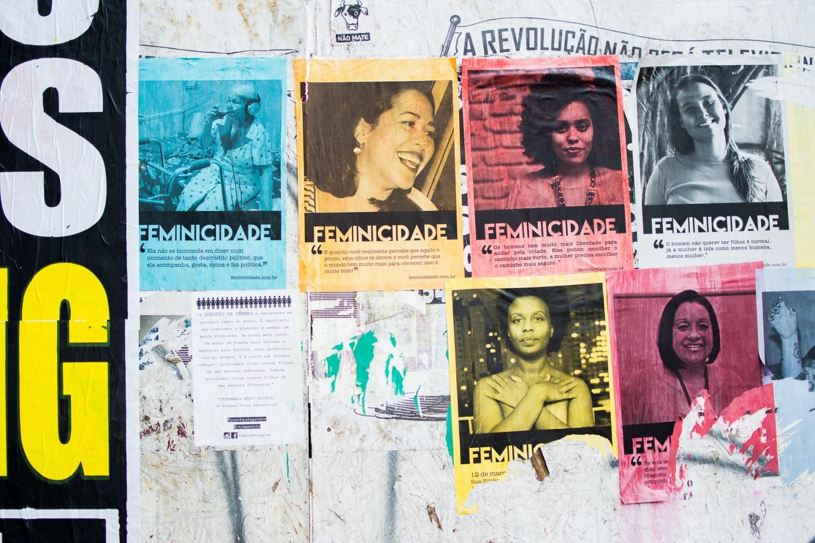 Paisagem Urbana/Feminicidade