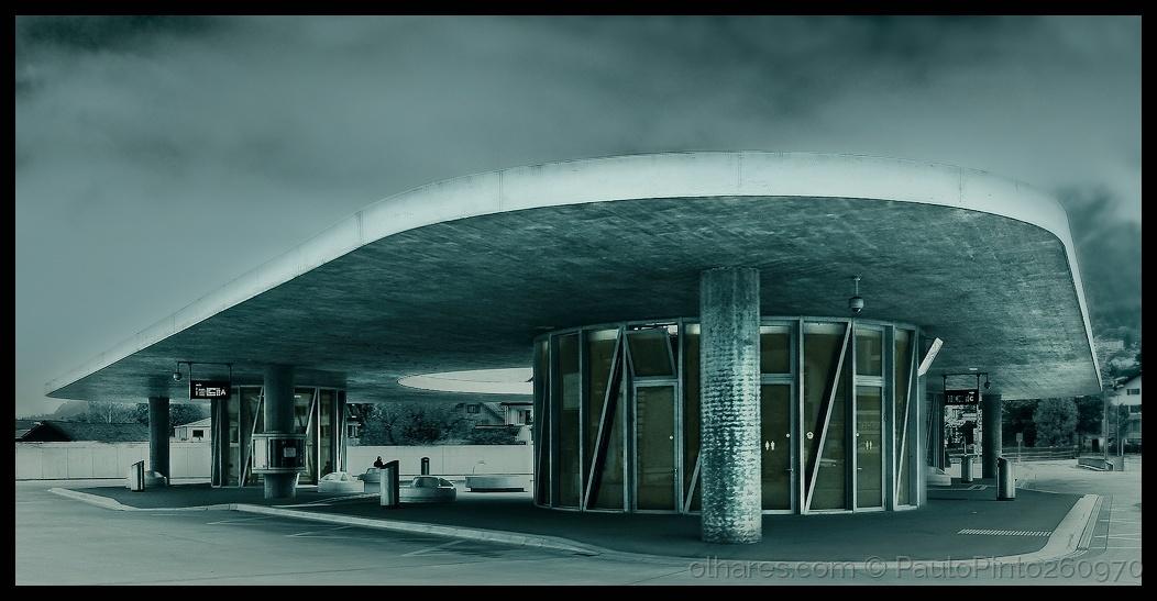 Paisagem Urbana/A estação que queria ser uma nave espacial...