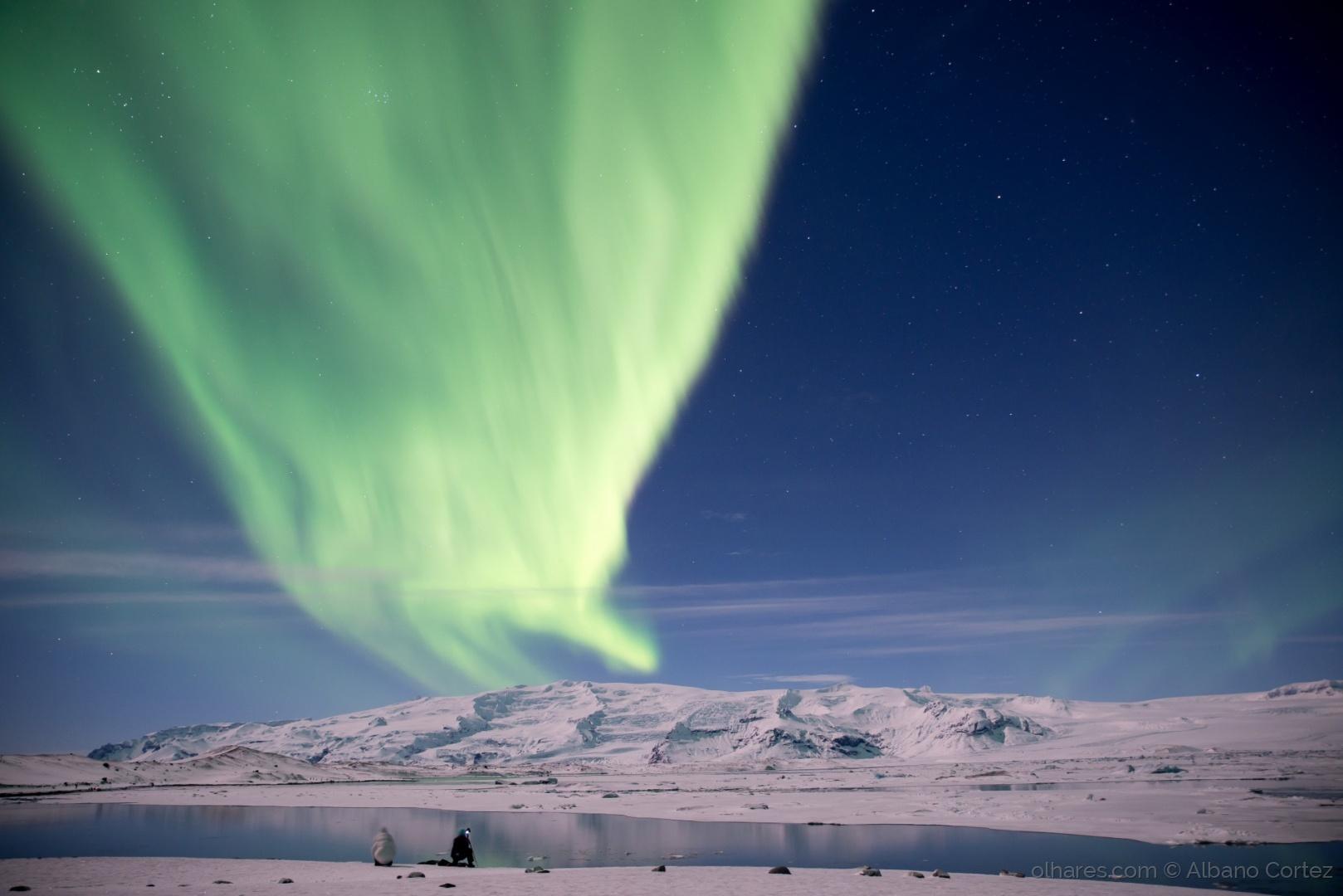 Albano Cortez   Aurora boreal