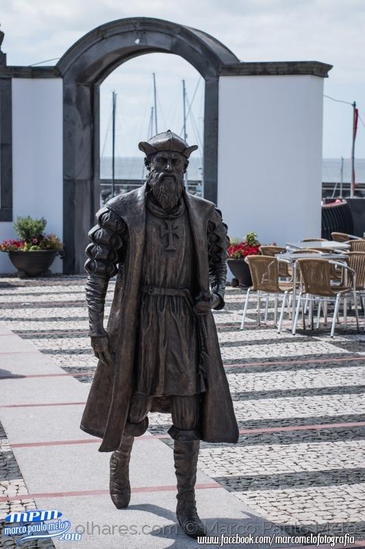 Outros/Estatua Vasco da Gama na Ilha Terceira Açores