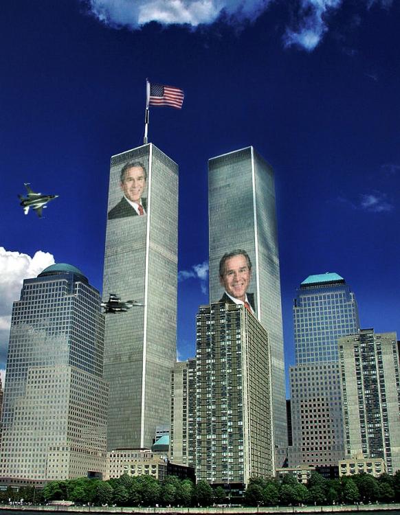 Arte Digital/11 Setembro - A Falsa historia que o mundo conheçe