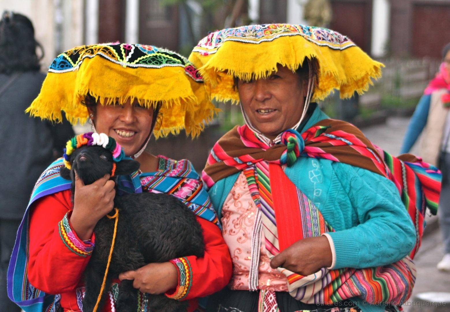 Gentes e Locais/Pelas ruas de Cusco.