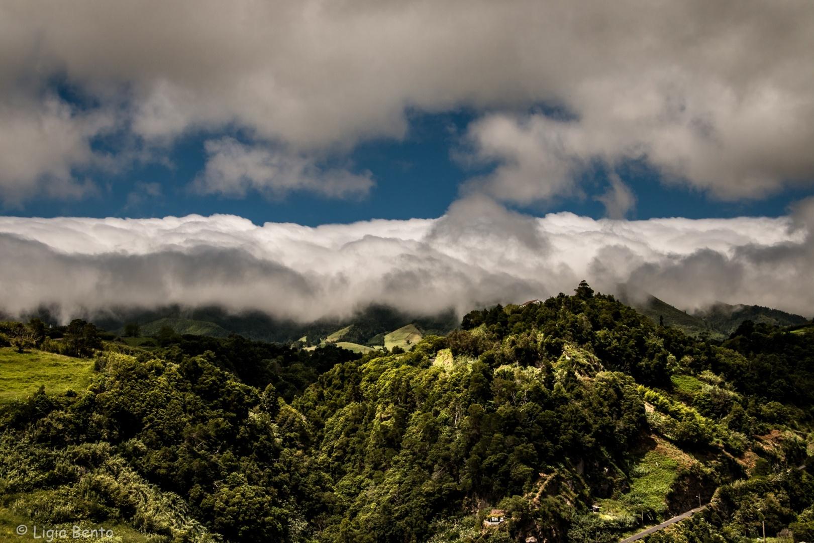 Paisagem Natural/entre o céu e a terra