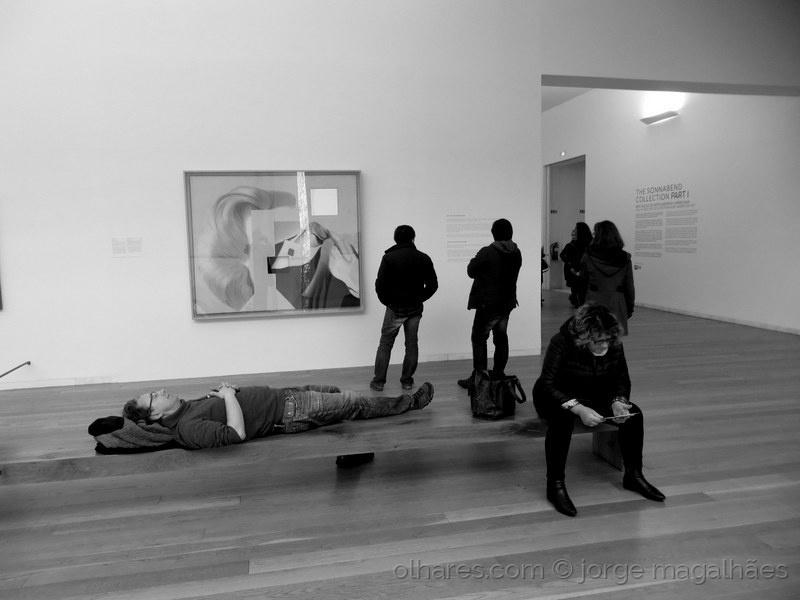 Fotojornalismo/O descanso dos guerreiros