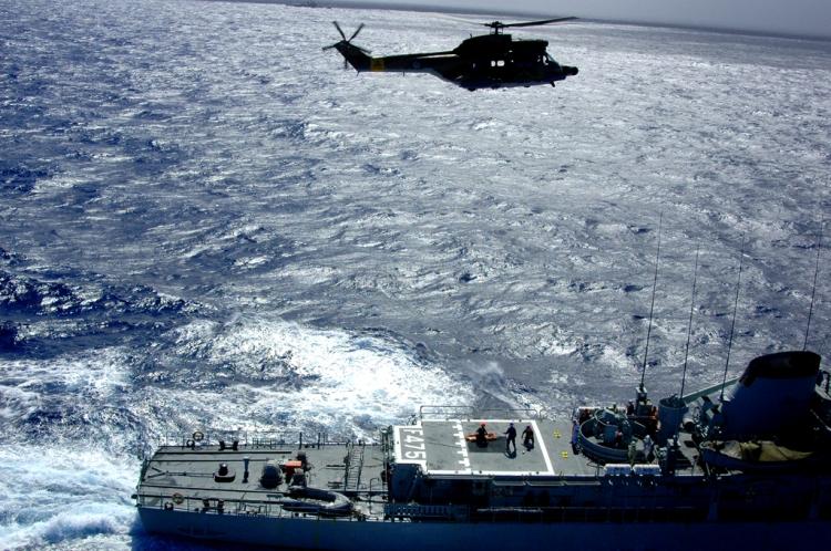 Fotojornalismo/Salvamento em alto mar