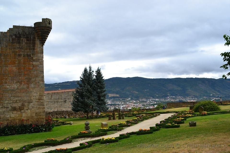 História/Linda paisagem- Jardim do Castelo de Chaves
