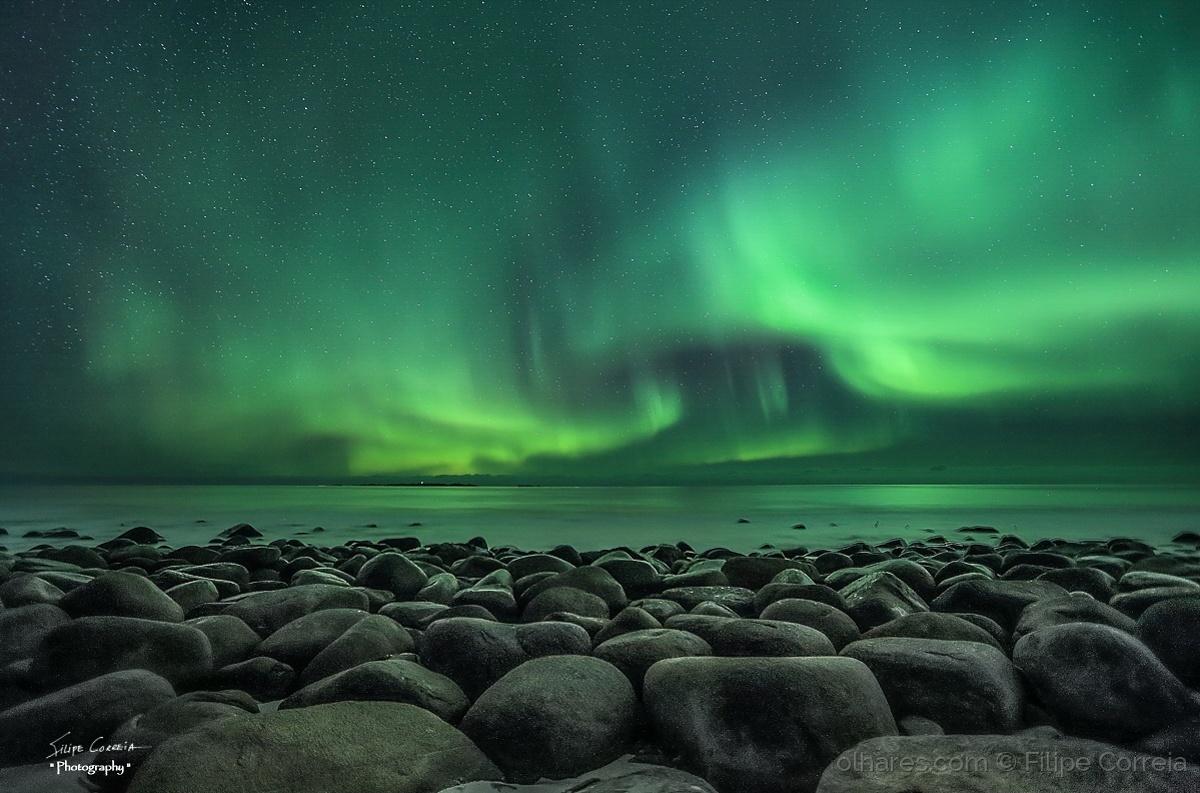 Paisagem Natural/Luzes do norte II
