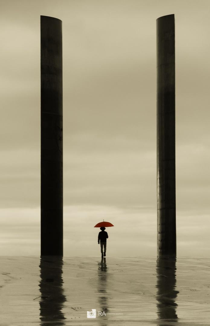 Gentes e Locais/Red umbrella