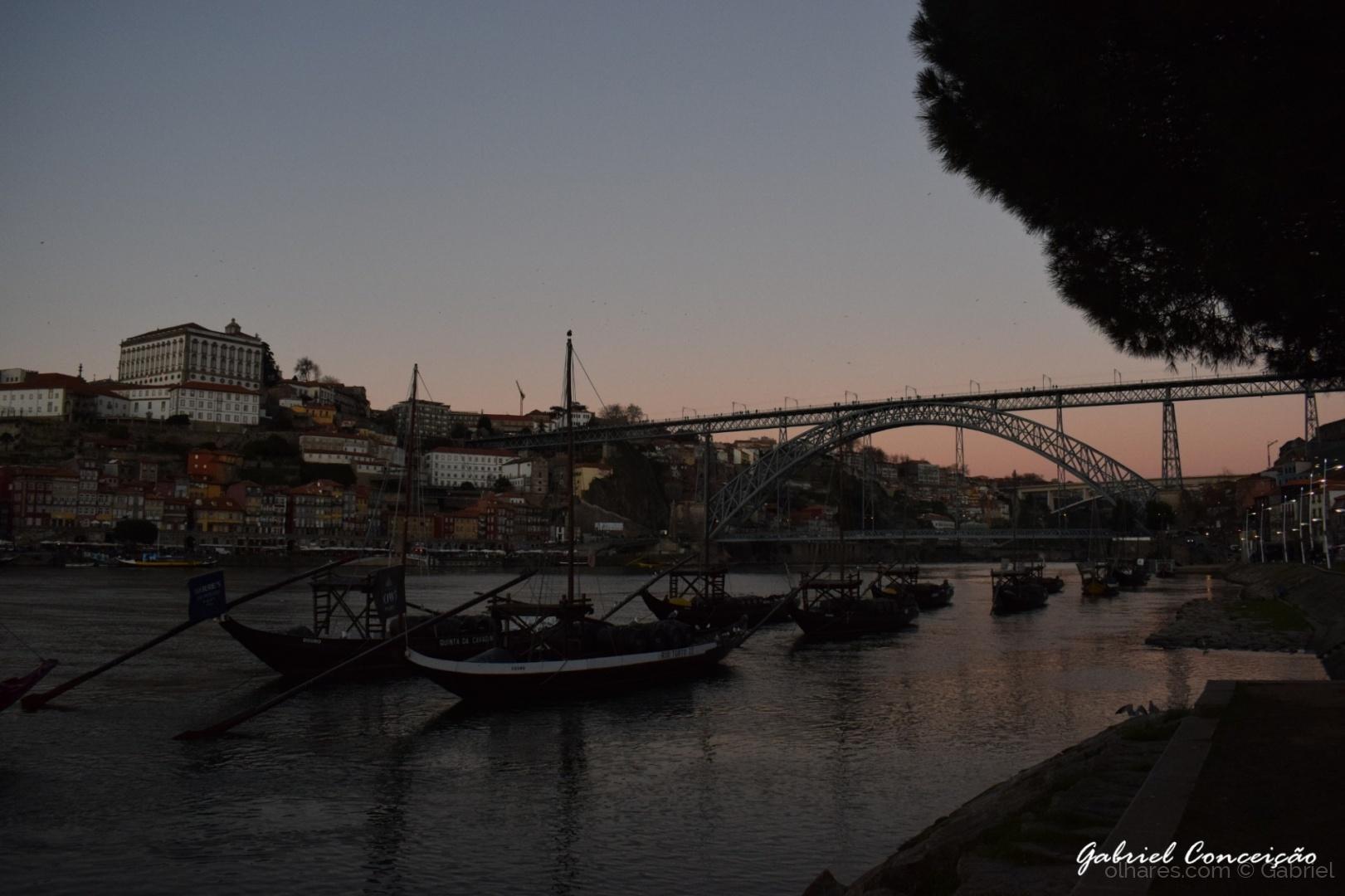 Paisagem Urbana/Douro - Barcos Rabelos