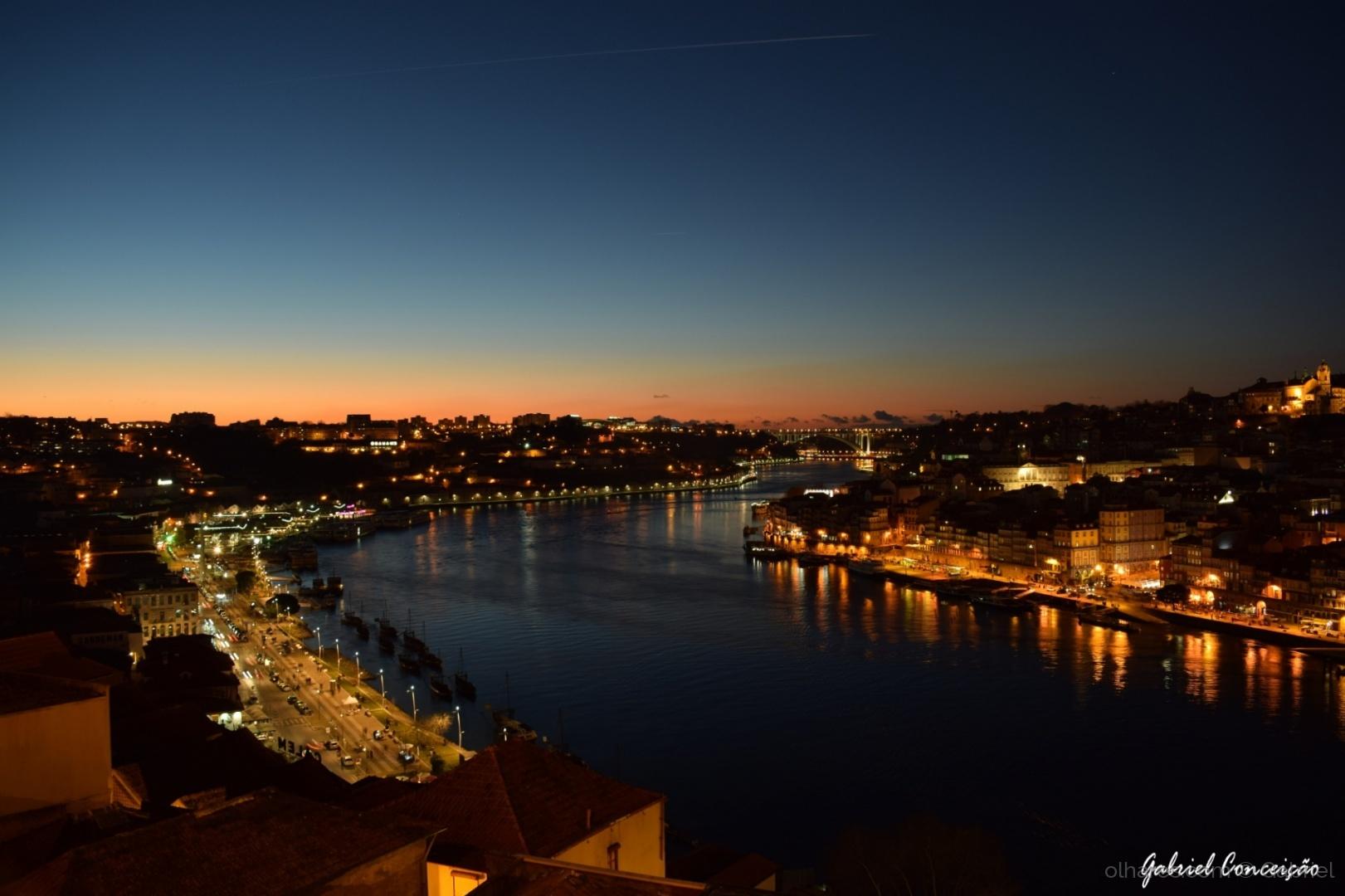 Paisagem Urbana/Douro River - Ponte D. Luís I