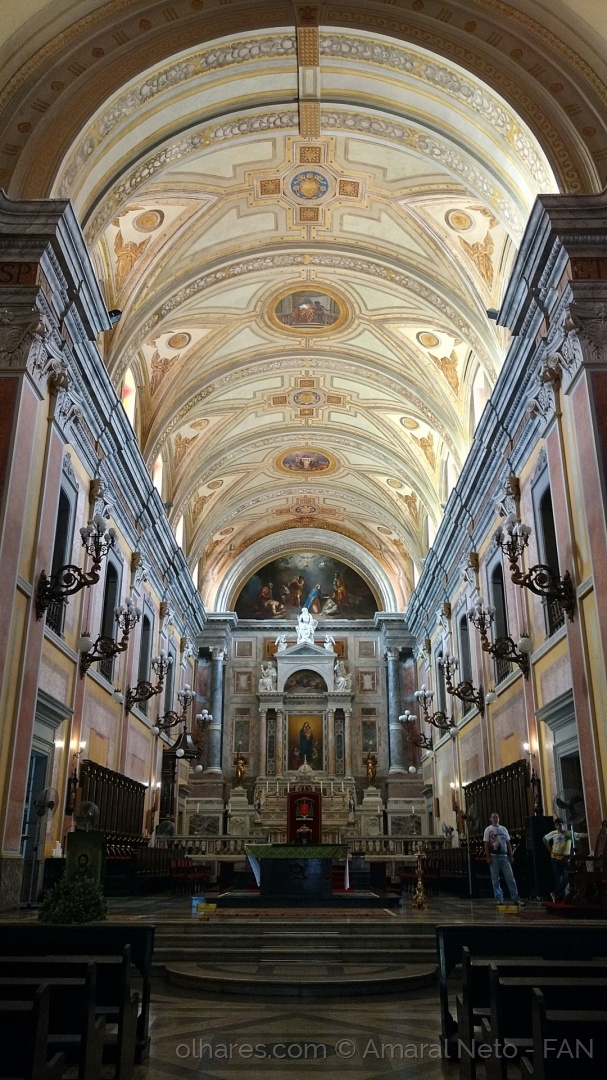Gentes e Locais/Altar da Basilica Santuário de Nazaré - Belem do P