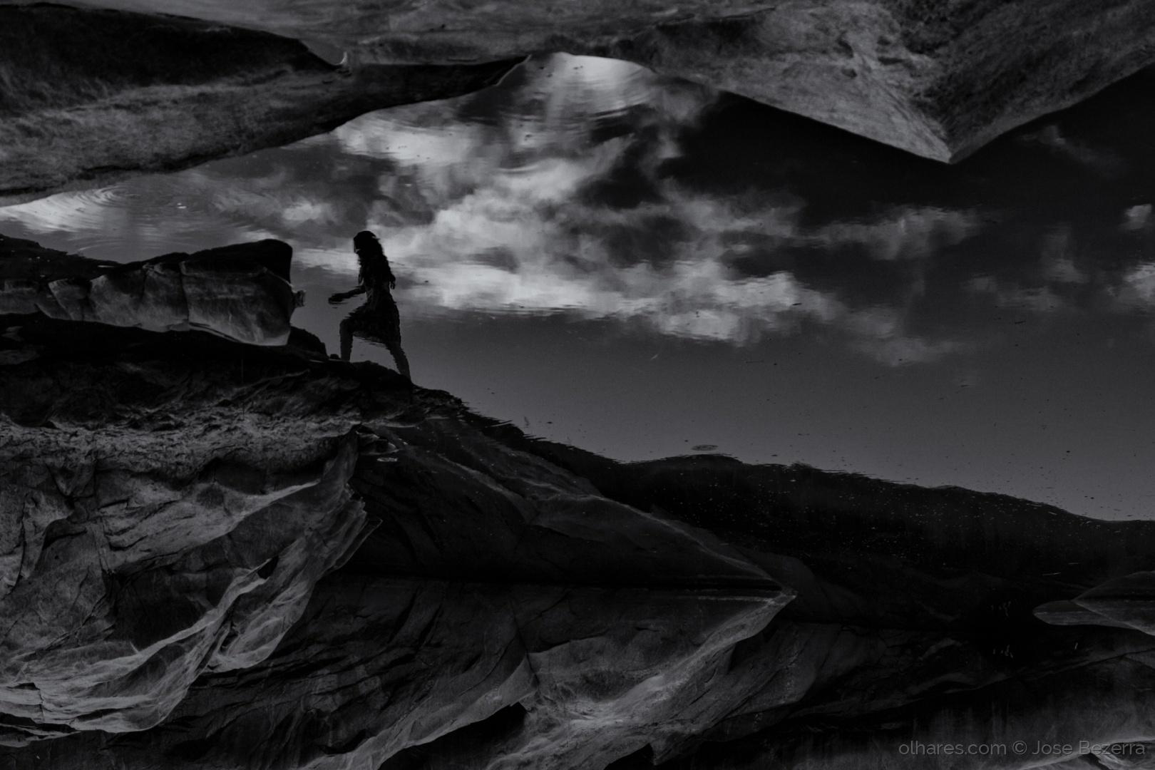 Fotojornalismo/A dama e a pedra...